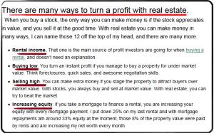 Dc Facwett Real Estate formula 6