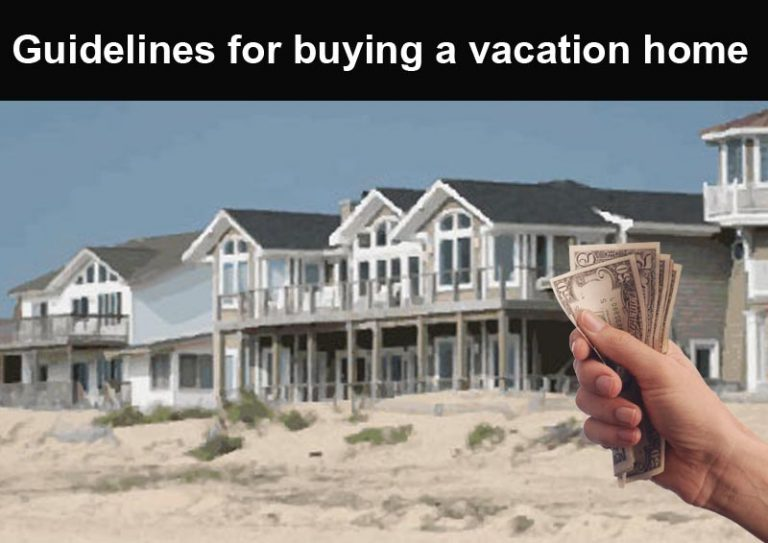 DC Fawcett -guidelines-for-buying-a-vacation-home